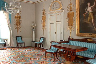The Lantern Room at Rosendal Palace Empire Karl Johan style