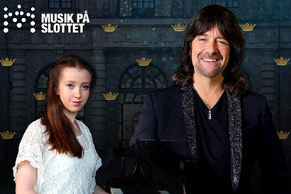 Pianokonsert med Robert Wells och Alice Power.